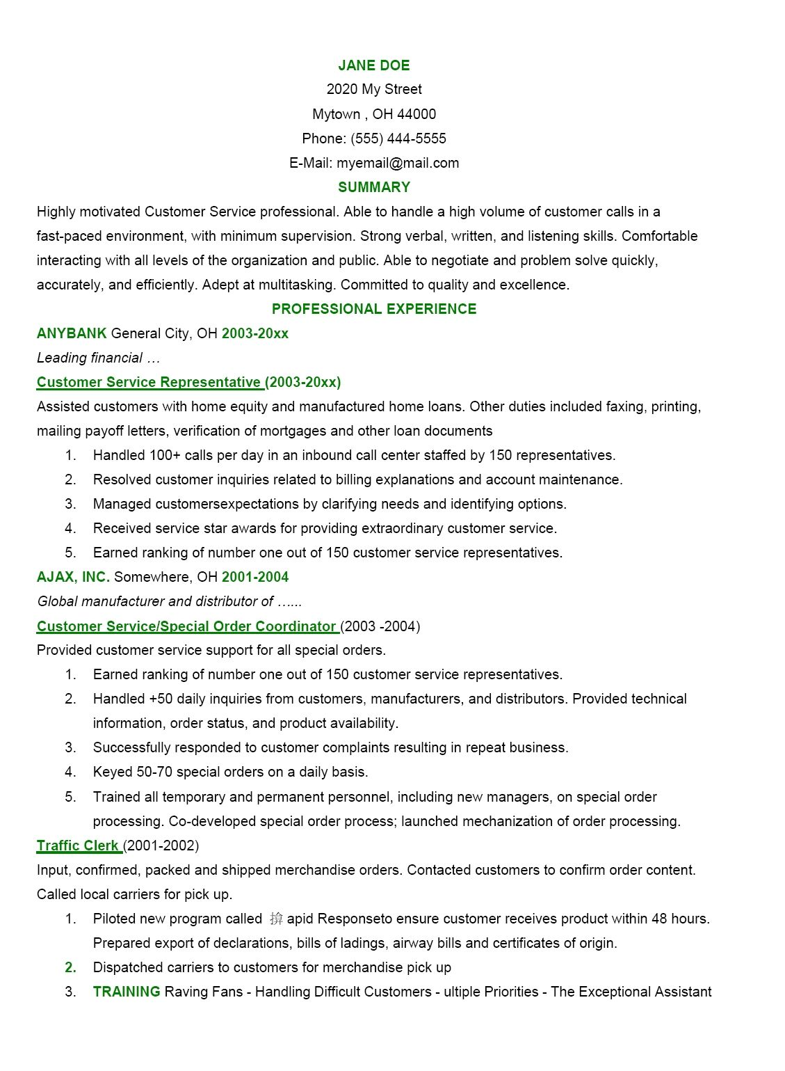 Objective Statement Resume Good Statements Appealing Examples