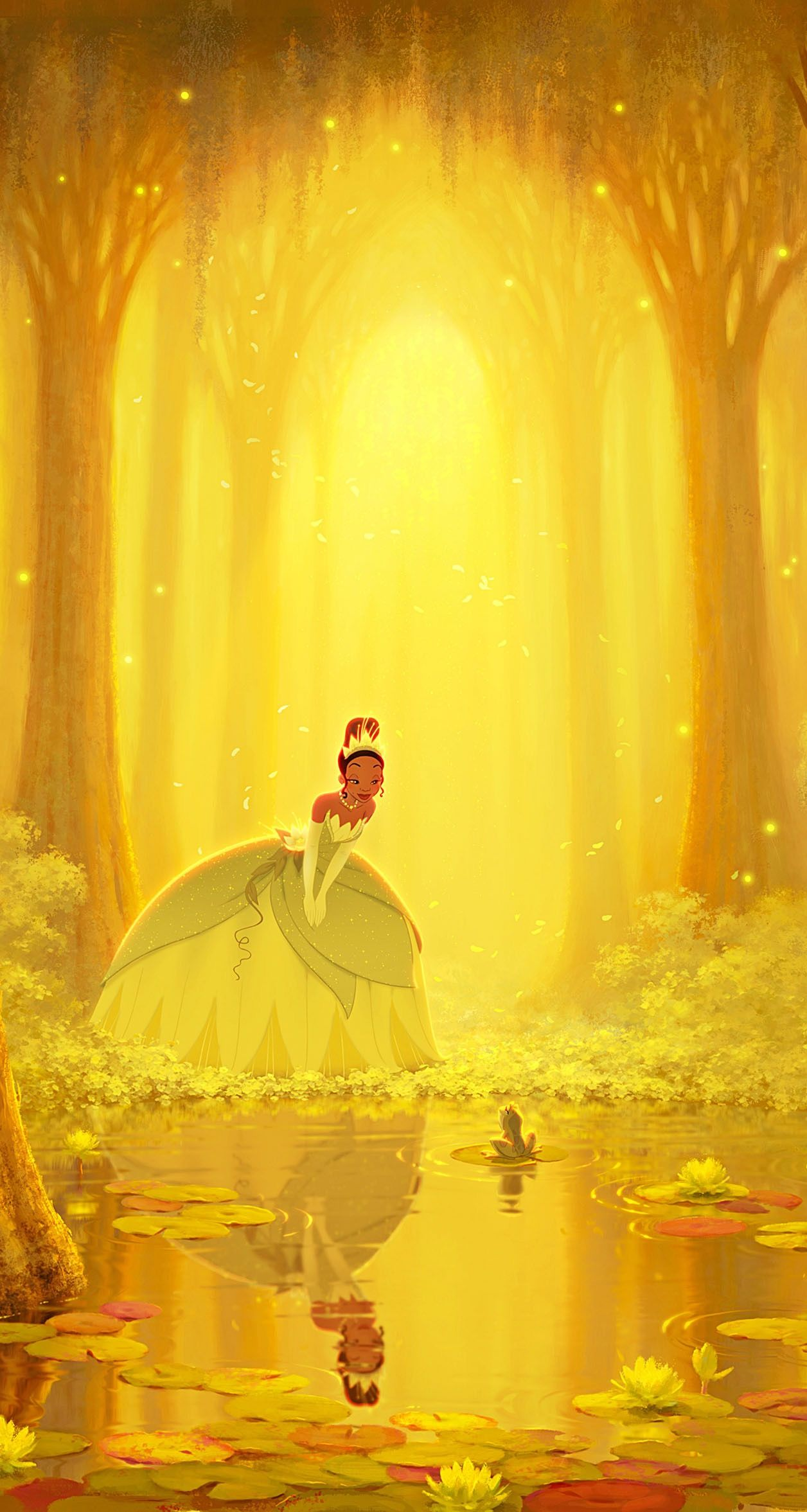 The Princess And The Frog Wallpaper Cute Disney Wallpaper