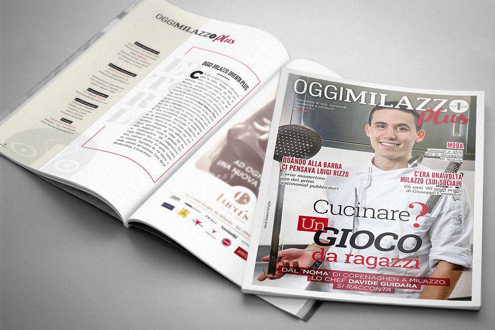 "Magazine ""Oggi Milazzo Plus"" on Behance"