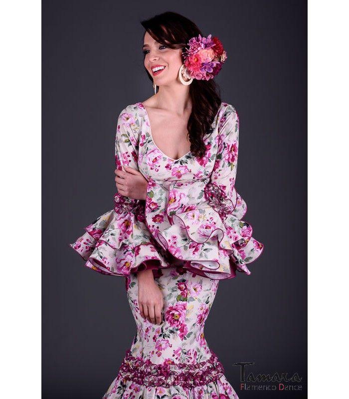 Aires de Feria Traje de flamenca Pasion Flores Fuxia Trajes de...