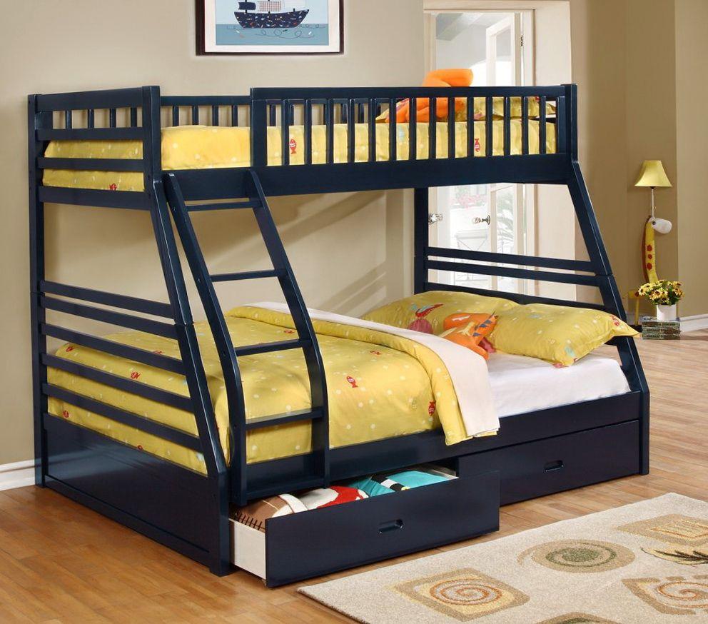 Twin Over Double Bunk Bed Canada Interior House Paint Colors Check More At Http