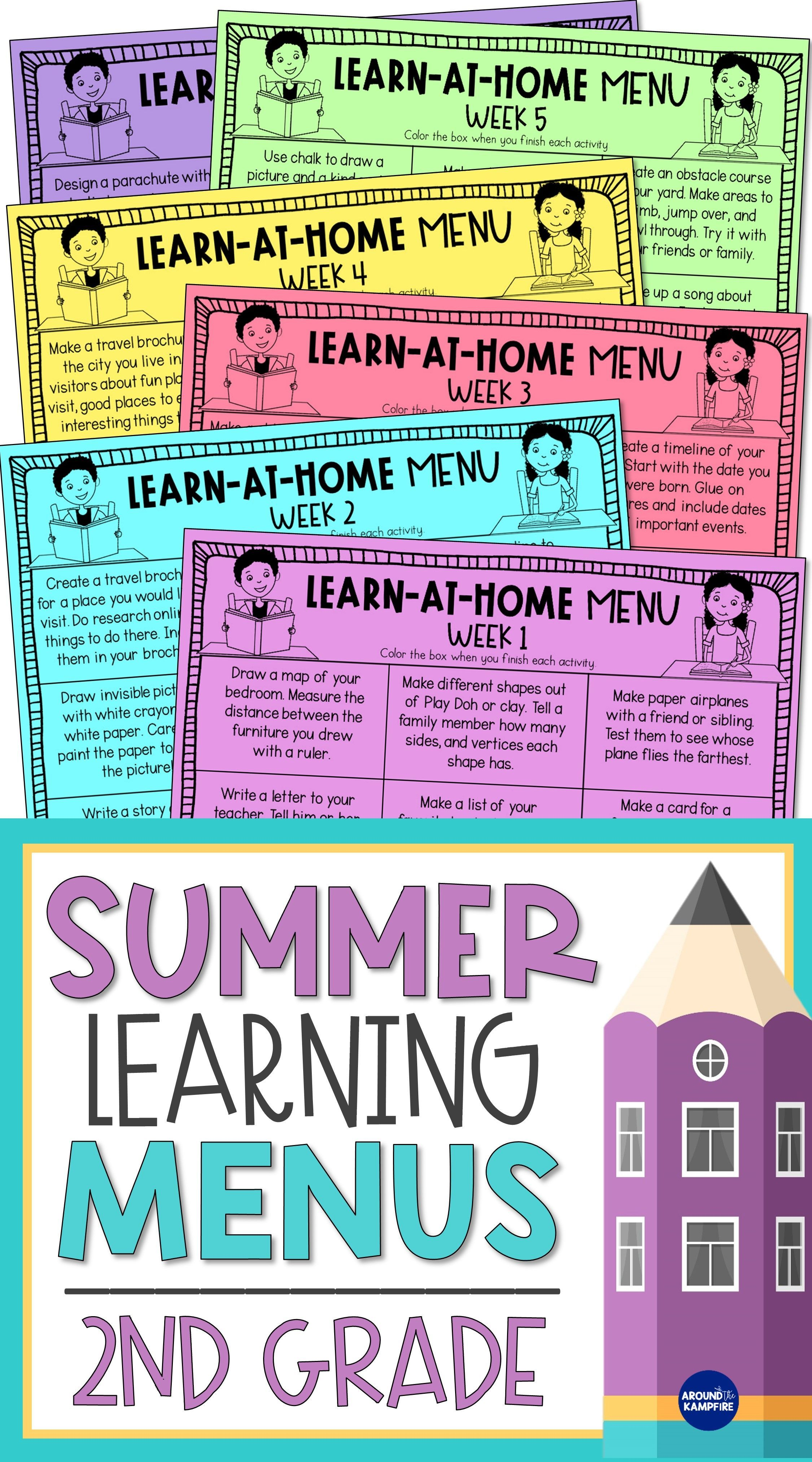 2nd Grade Summer Review Practice Activities In 2020 Summer Learning Activities Letter To Parents Summer Learning