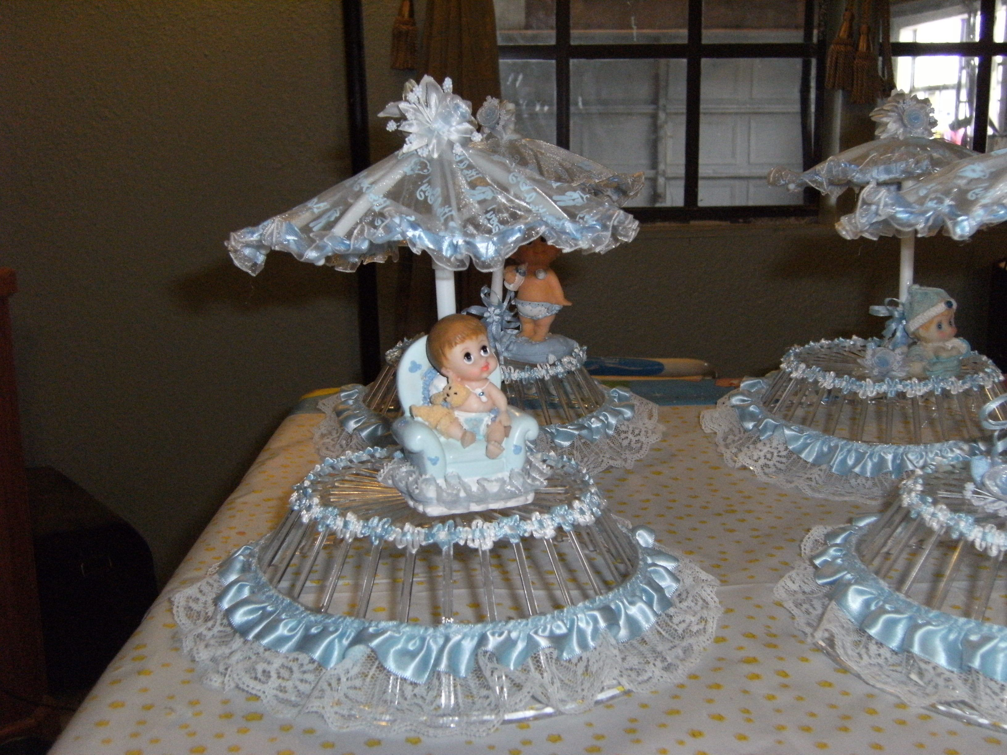 Centros de mesa para baby shower comestibles buscar con for Buscar decoraciones