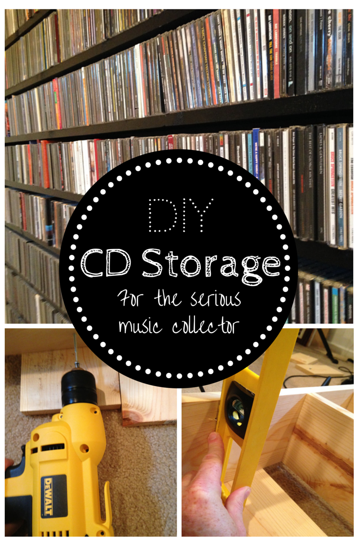 Music Cd Storage Solutions Extended Shelf Life Diy Cd Storage For The Serious Music
