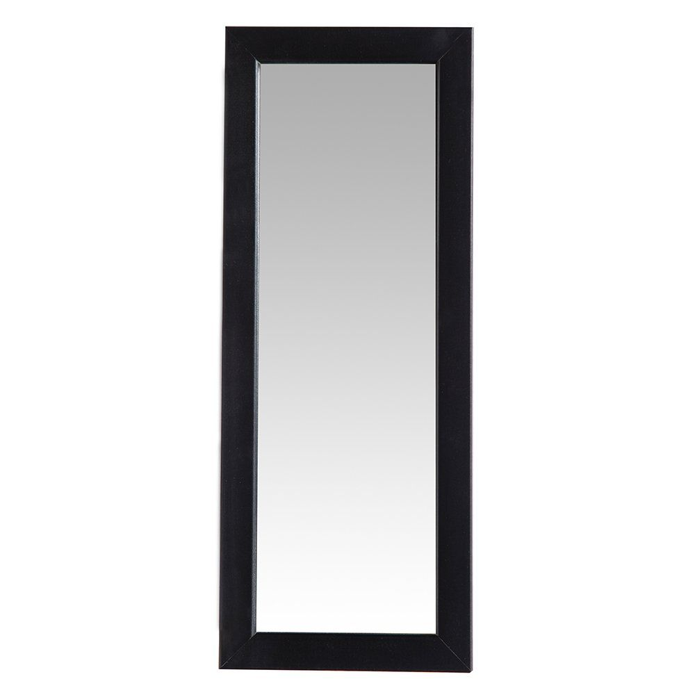 Pinnacle Frames And Accents Small Decorative 4 Inch X 12 Mirror With Clic Black Frame Details Can Be Found By Clicking On The Image