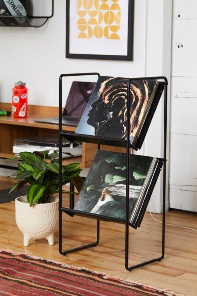 Stylish Storage Solutions For Small Spaces Vinyl Record Storage