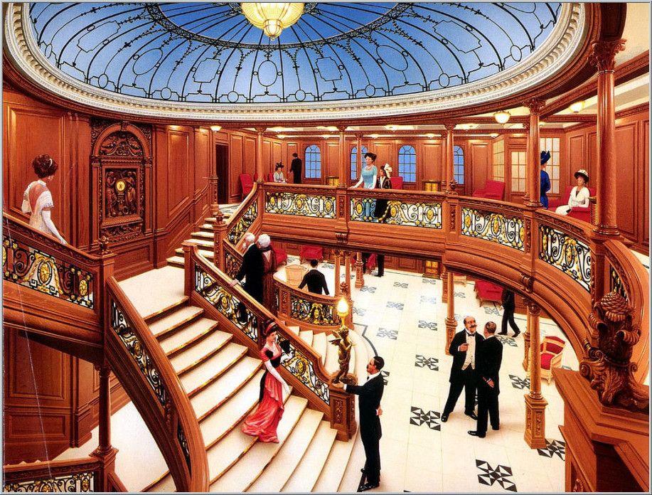 titanic underwater grand staircase | DecoOri.com | Rms ...