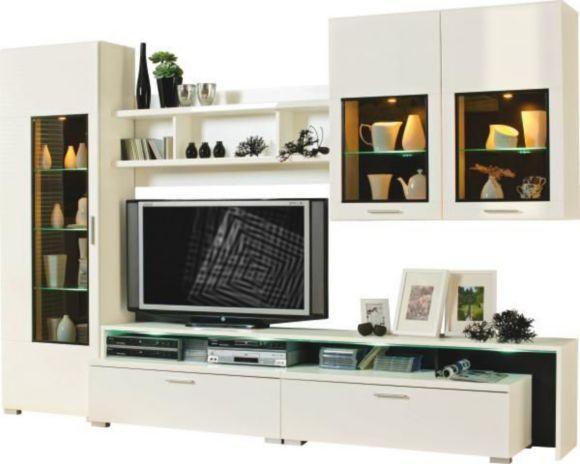 Diese Wohnwand von XORA passt perfekt in Ihr modern eingerichtetes - wohnzimmer fernseher deko