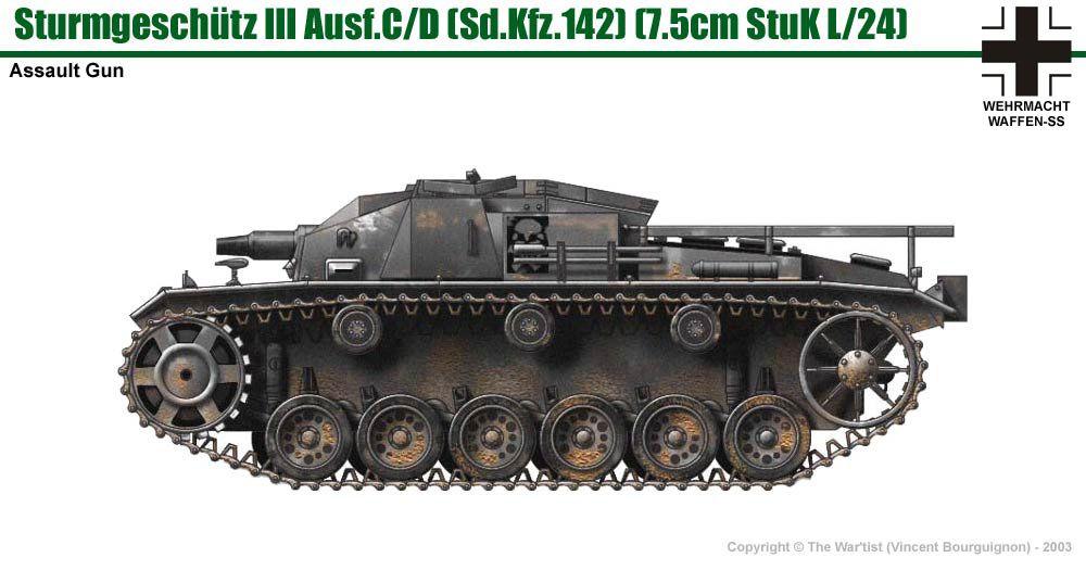 Stug Iii Ausf C  D