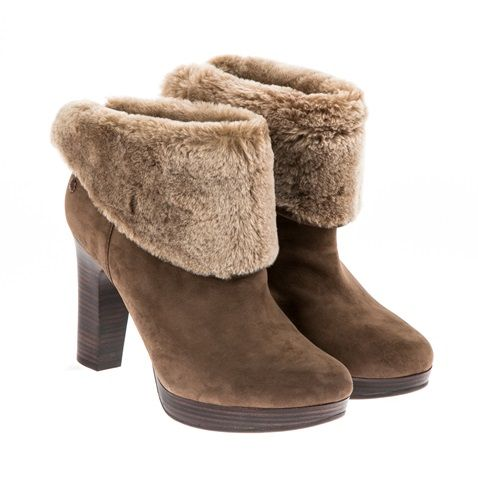 591ba5ae305 Γυναικεία μποτάκια Ugg Australia καφέ (1194249) | Factory Outlet | Shoes