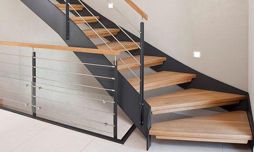 Voss Treppen treppenbau voß plz 23858 reinfeld hpl wangentreppe mit