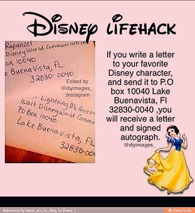 Photo of Disney Lifehacks