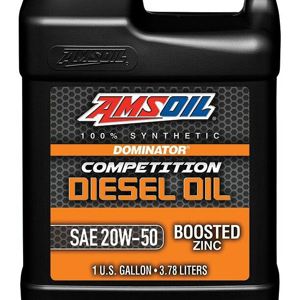 Amsoil Dominator 20w 50 Competition Diesel Oil Dco Is Engineered
