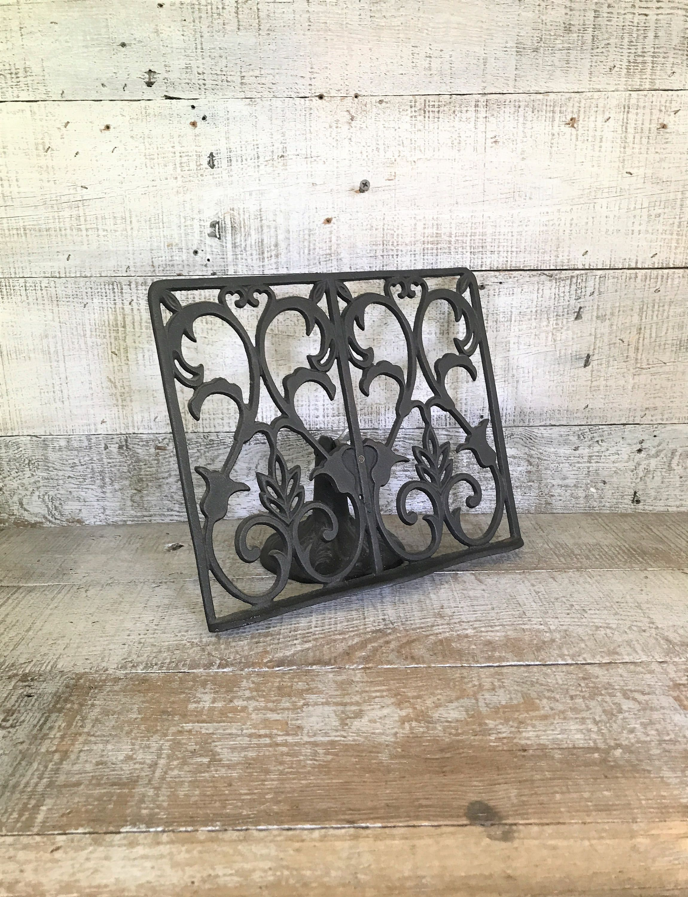 book stand cast iron book stand easel cast iron display stand