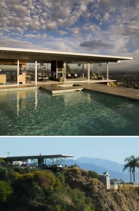 Famous House In Hollywood Hills Glass House Modern Architecture