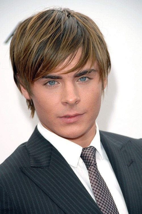Zac Efron Short To Medium Angled Haircut Zac Efron Hair Cool Hairstyles Hair Styles
