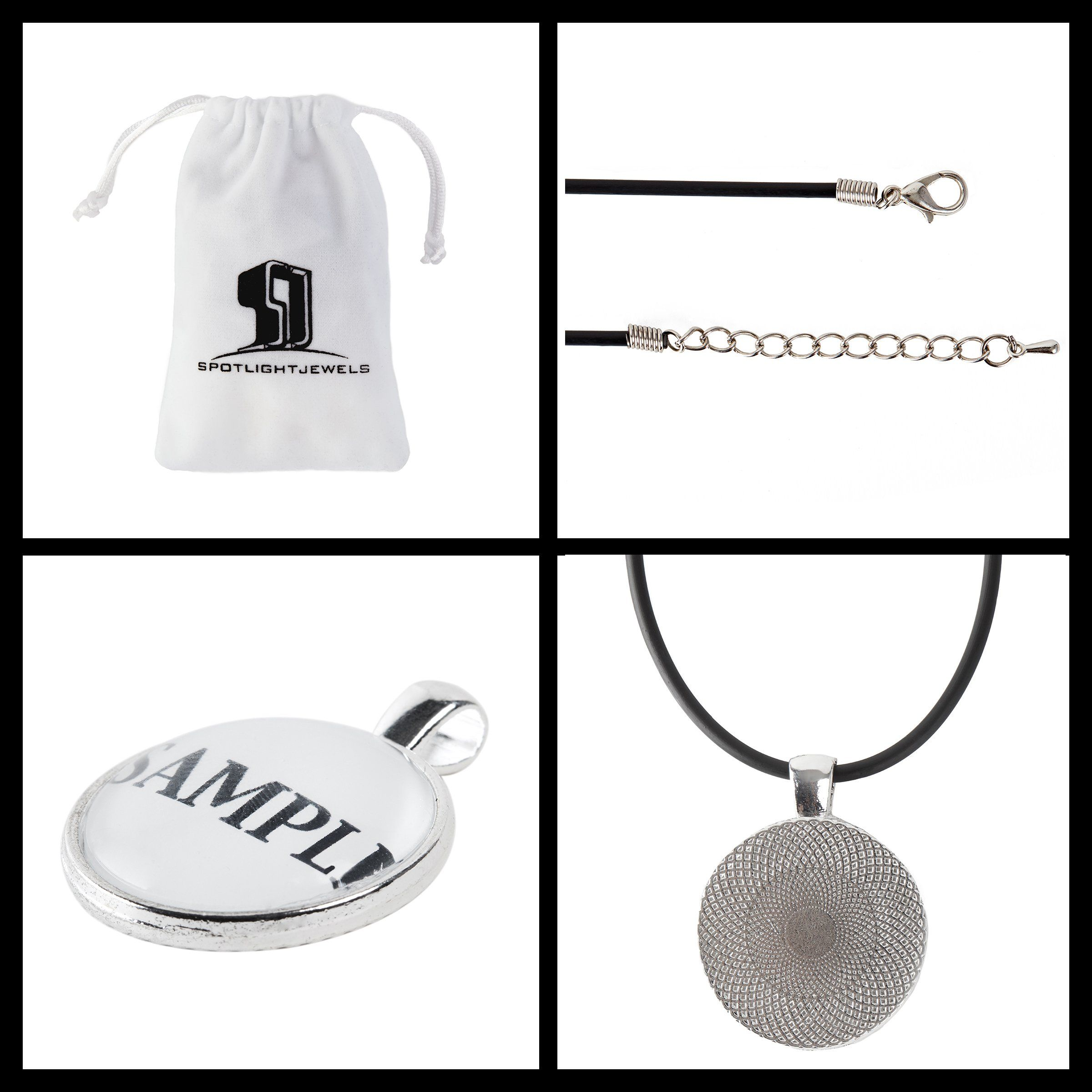 Customized Seattle Football Jersey Necklace with Your Name and Number By SpotlightJewels