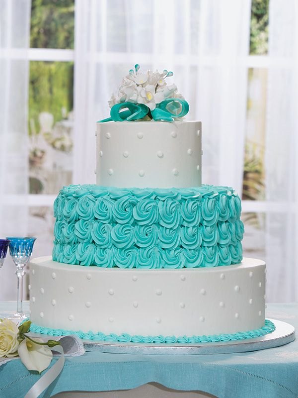 Publix Cake Different Colors Textured Touch