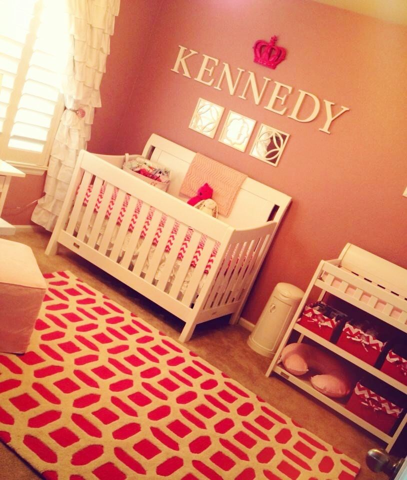 Angel Themed Design For A Baby Girl S Nursery: Kennedy Rose's Pink Nursery