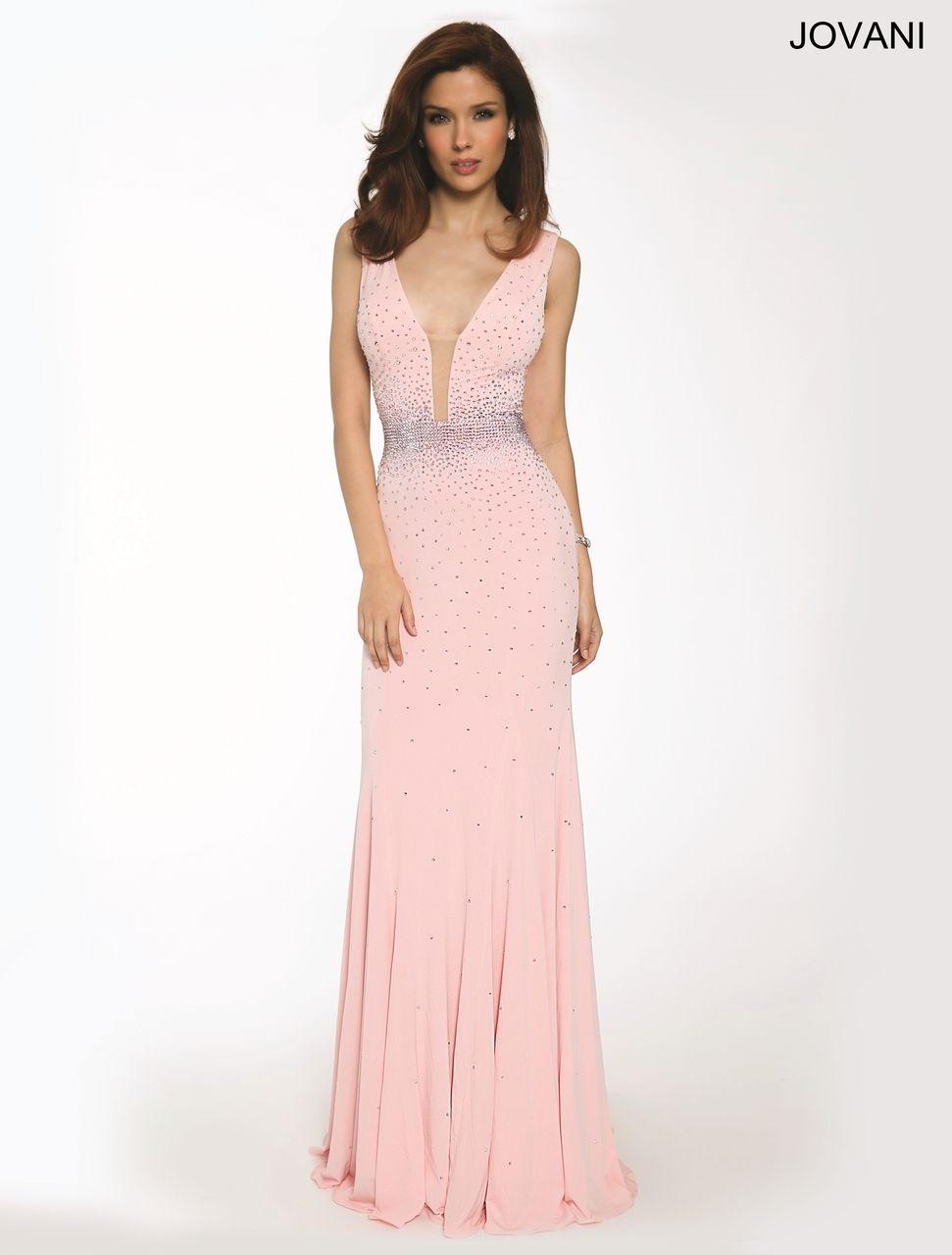 Jovani 22977 Aqua Green Light-pink Orange Evening Dress | Dresses ...