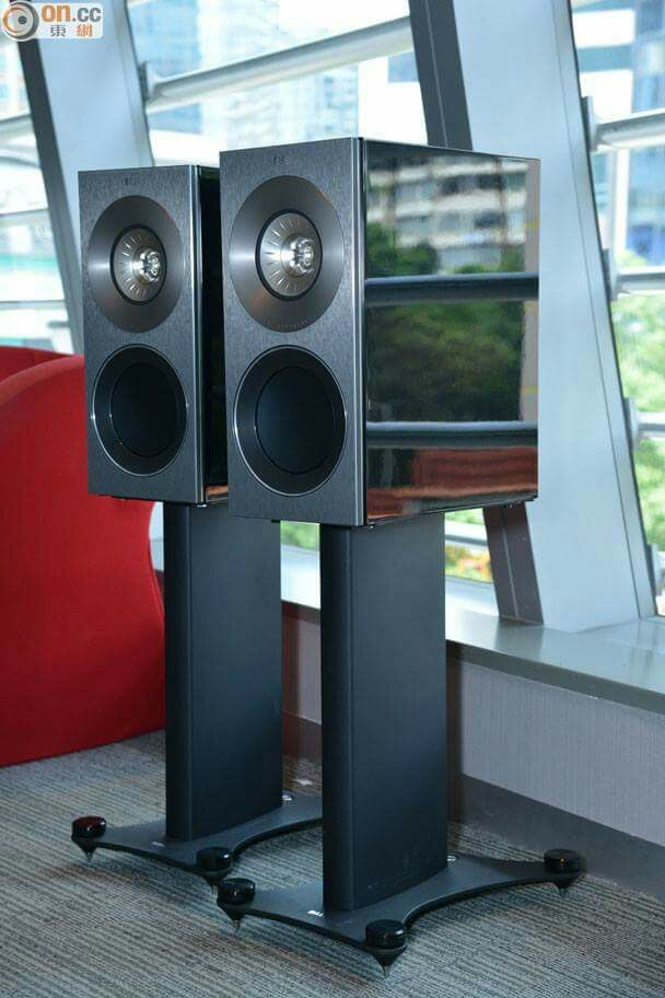 KEF Reference One Speakers | Premium Sound is art for the Mind
