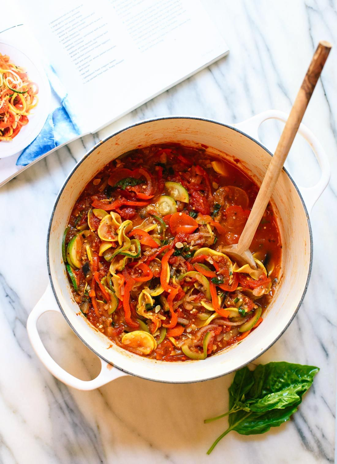 Spiralized Ratatouille