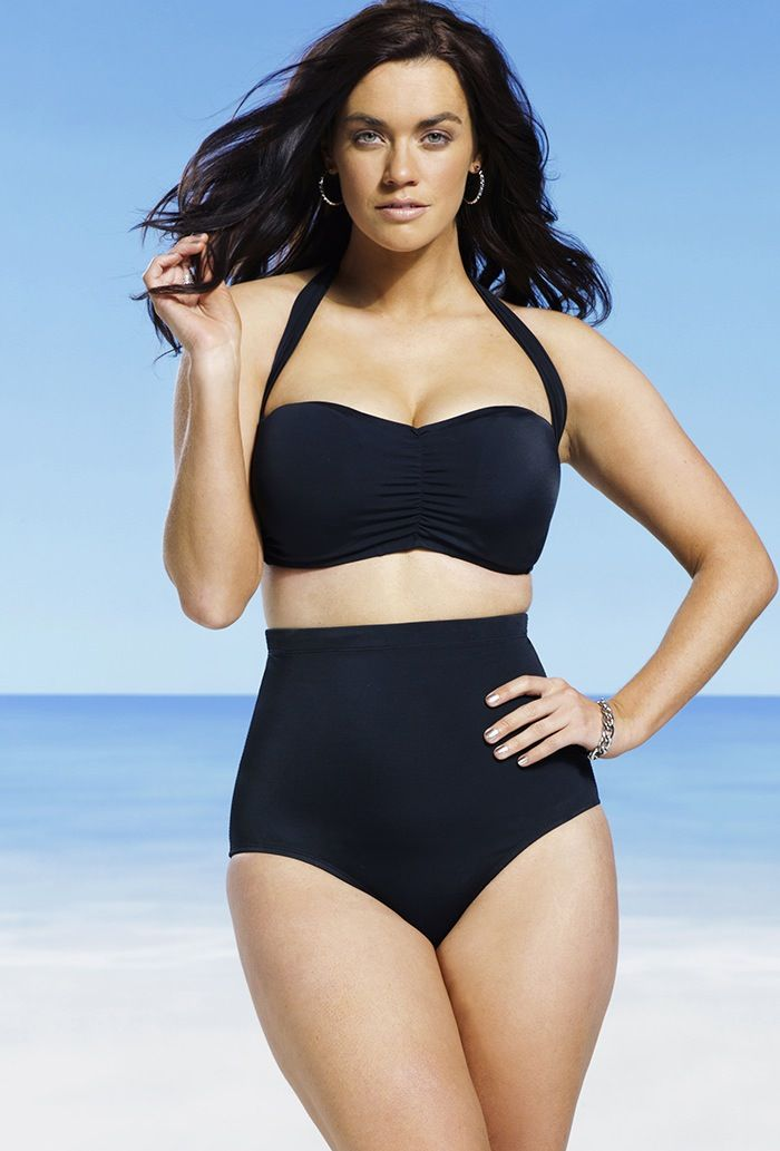 novel style good looking discount coupon High waisted bikini for curvy bodies | Summer | Retro ...