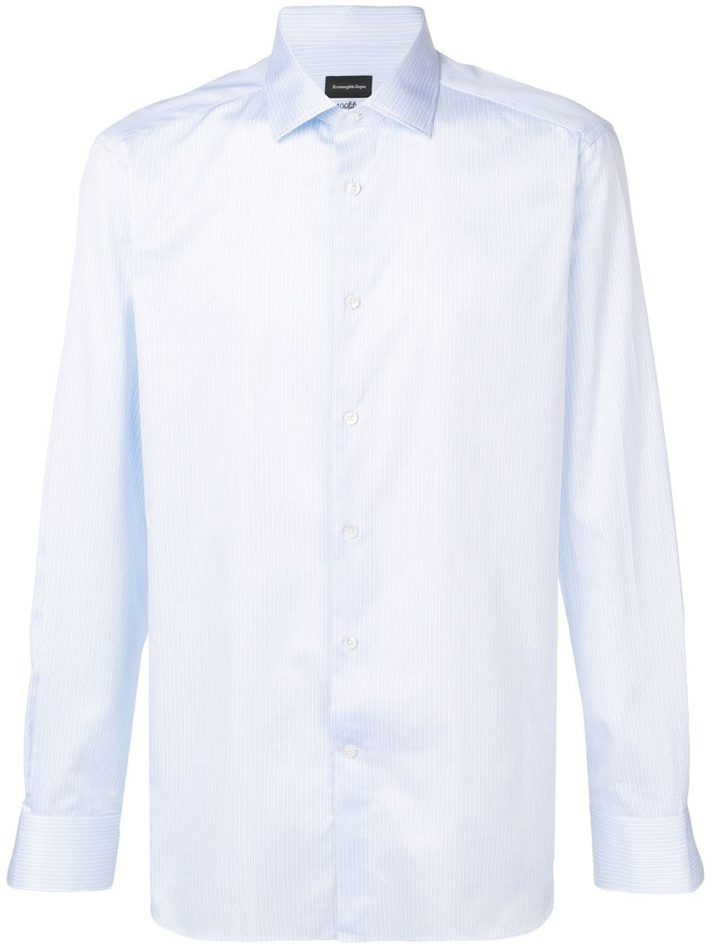 f6dd09d1 Z Zegna striped shirt - Blue in 2019 | Products | Shirts