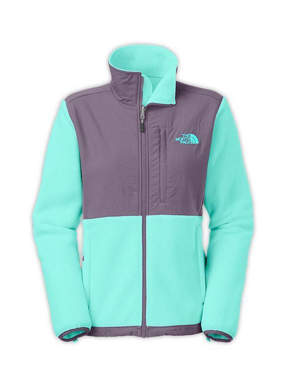 north face girls jacket, The North Face Jackets Womens Denali Tiffany Blue