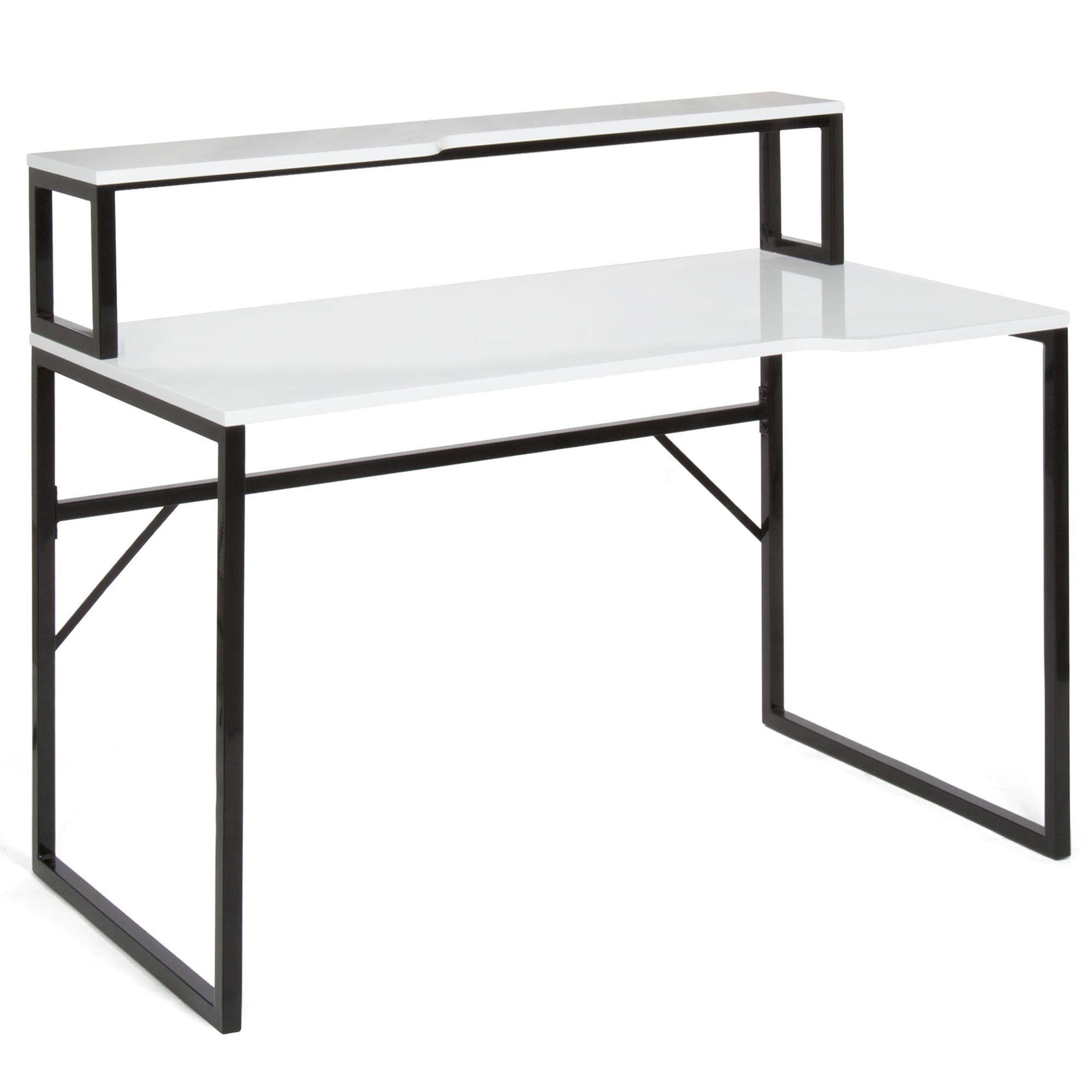 bureau bicolore bi mati re arthur bureau bureaux adultes bureaux bureau par pi ce. Black Bedroom Furniture Sets. Home Design Ideas