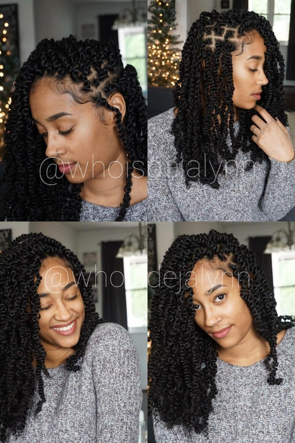 Passion Twists Hairstyles: What they are, Tutorials & Type of hair used