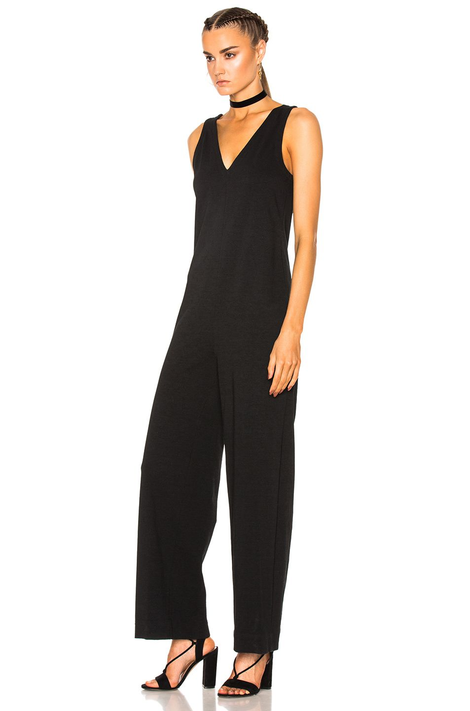 17643039c49 Image 2 of James Perse Palazzo Jumpsuit in Black
