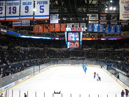 Nassau Coliseum Long Island Ny Saw A Pens Game There A Few Years Ago Pens Won 3 0 The Worst Part Of The W Nassau Coliseum Long Island Ny New York Islanders