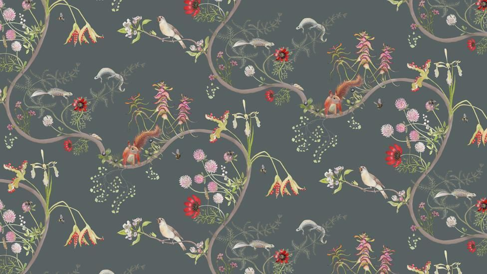 The English Mercia Collection Is The Designer S Tribute To One Of The Greatest Conservation Parables Ever Written The Lorax By Wallpaper Vintage Wallpaper Art