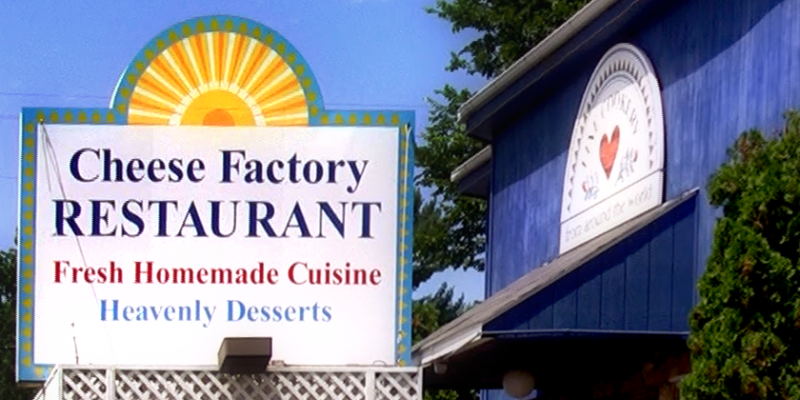 We Are Locally Owned And Operated In A Lovingly Restored Old Cheese Factory Building Surrounded By Beautiful Summe Restaurant Travel Kids Menu Unique Dinner