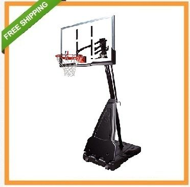 Spalding Portable Basketball Goals 68564 54 Inch Acrylic Backboard