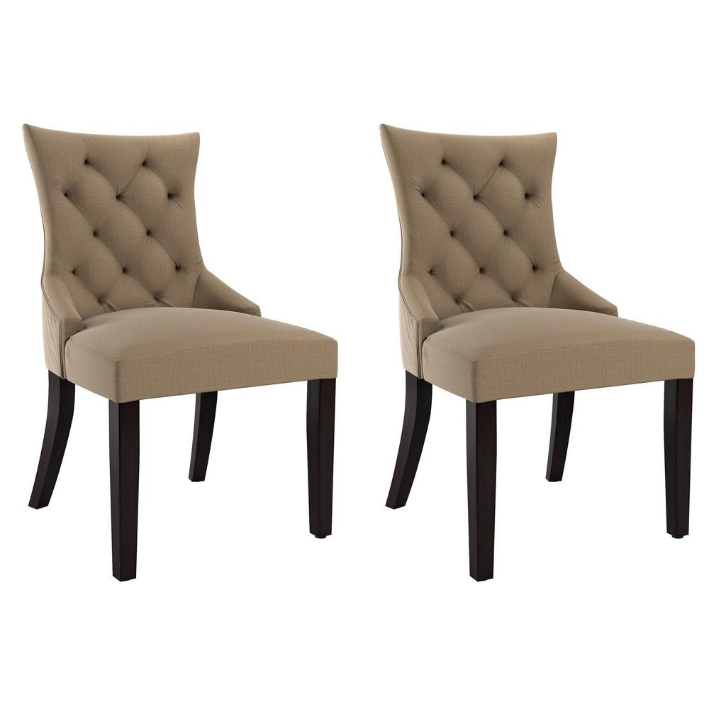 Best Corliving Antonio Beige Fabric Accent Chair Set Of 2 640 x 480