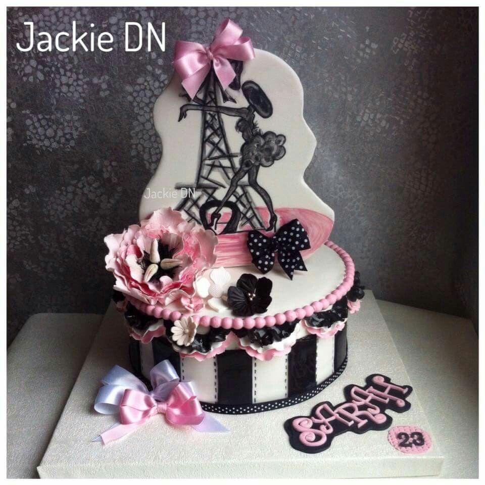 Paris glamour cake fondant