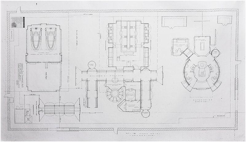 Lot Star Trek Enterprise Stage 18 Master Blueprint Plan, Lot - new blueprint architecture enterprise