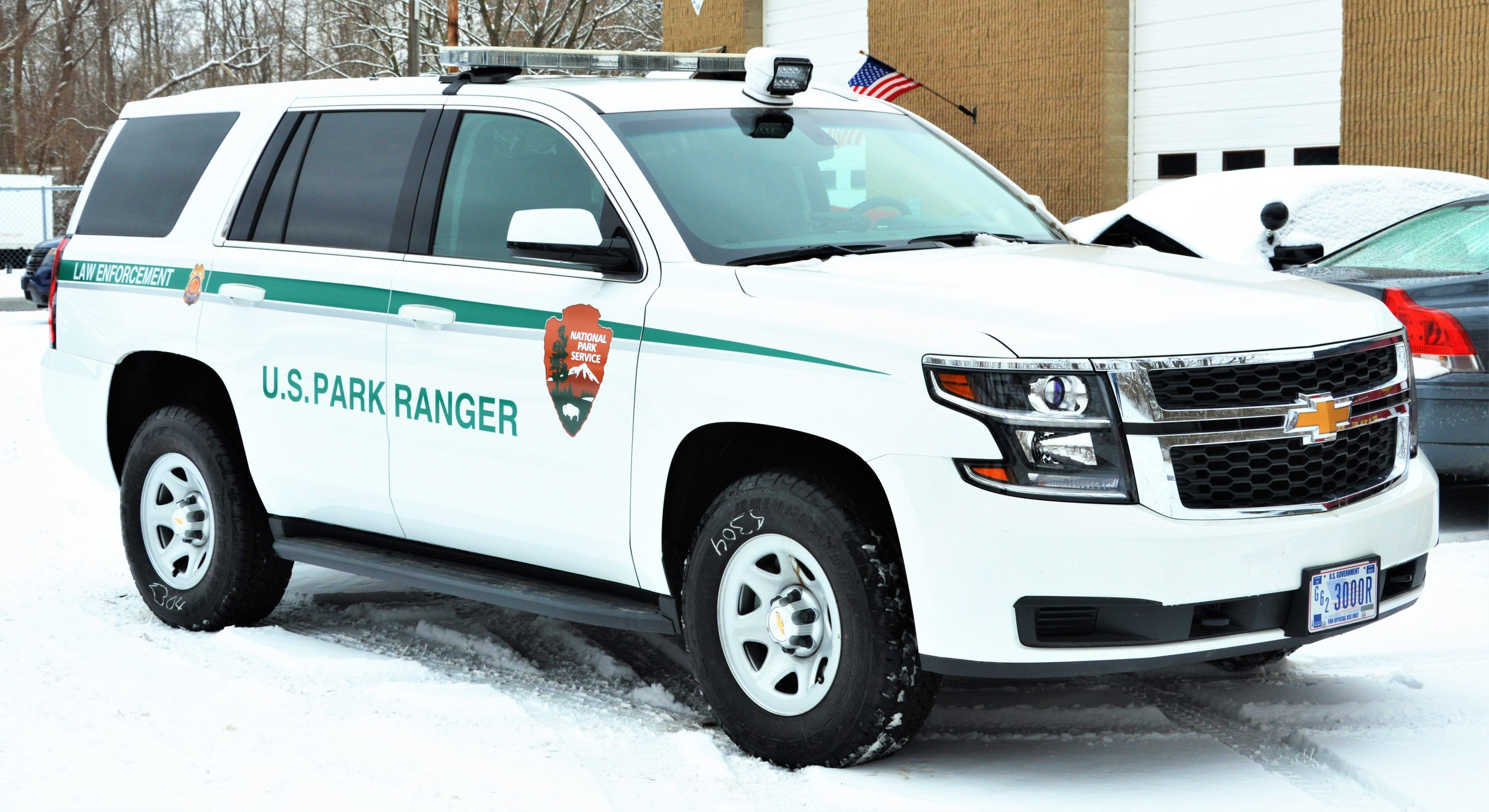 National Park Service, Saratoga NPS Chevy Tahoe vehicle