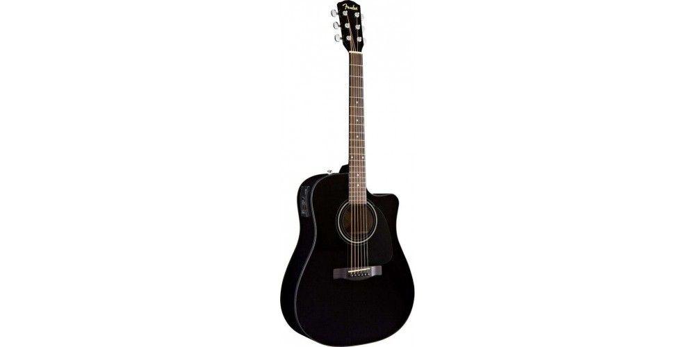 Fender Cd60ce Bk Electro Acoustic Guitar Acoustic Guitar Electro Acoustic Guitar Guitar
