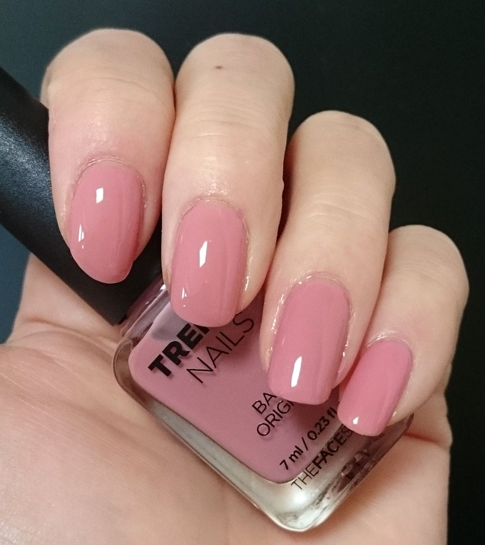 TheFaceShop trendy nails PK106 (2 coats   Seche top coat) | My ...