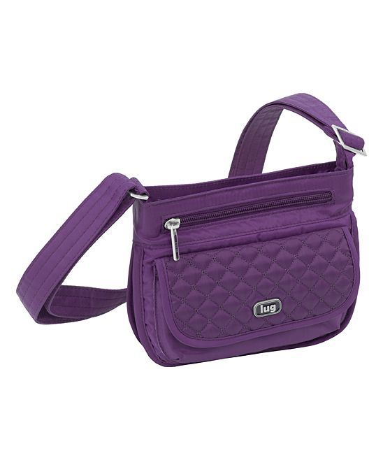 Plum Purple Sway Mini Crossbody Bag Mini Crossbody Bag