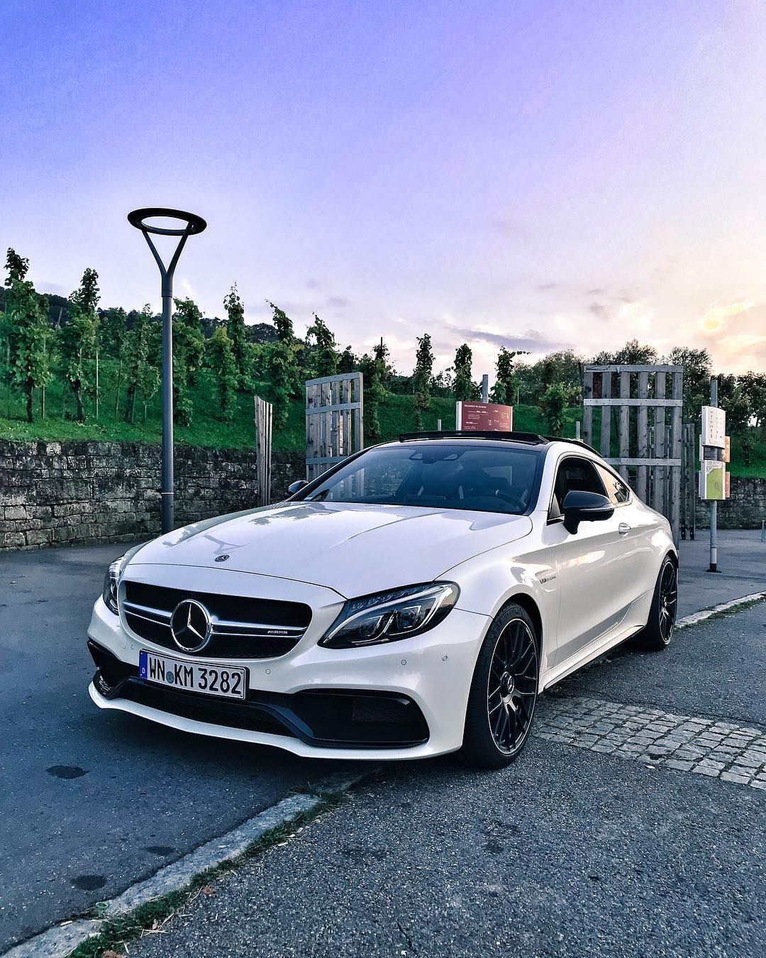 Produktplatzierung / Product Placement My 2018 AMG C63 S