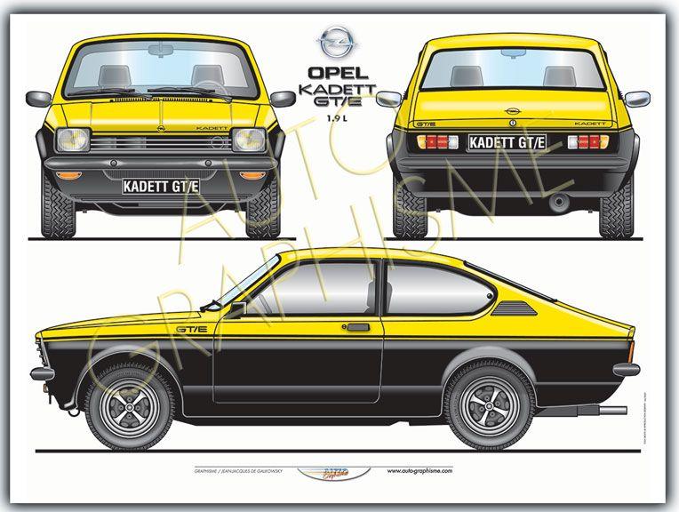 Opel Kadett Gte 1l9