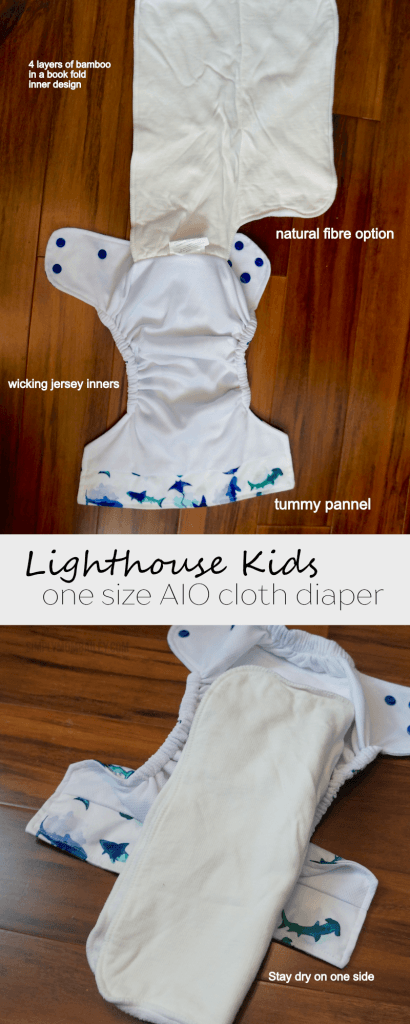 b3d1ff74f Lighthouse Kids AIO Cloth Diaper Review
