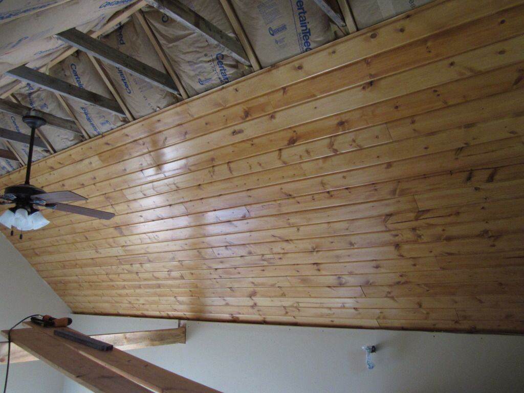 Finished Garage Ceiling Seattle Home In 2019 Tongue
