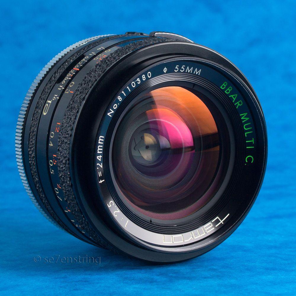 Tamron 24mm 2.5 Wide Angle Lens BBAR Adaptall Contax Yashica DSLR ...