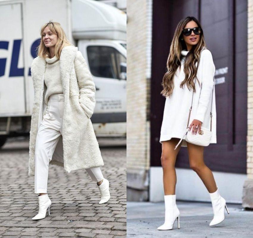 Afinal, Bota Branca Sim ou Não? | Botas brancas, Ideias fashion ...