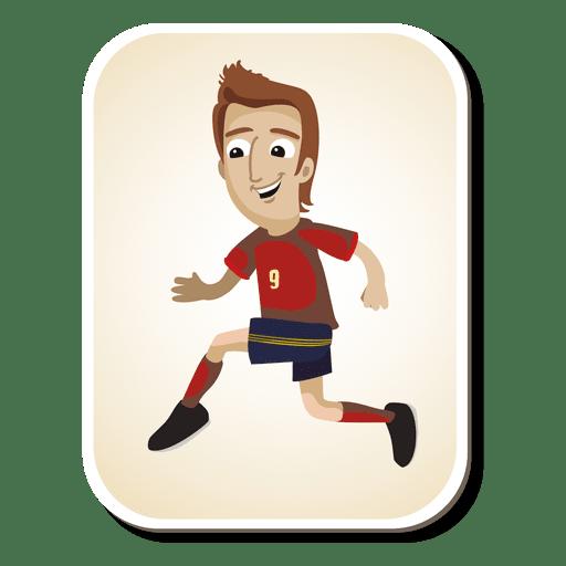 Spain Football Player Cartoon Ad Sponsored Ad Football Player Cartoon Spain In 2020 Football Players Switzerland Football Educational Projects